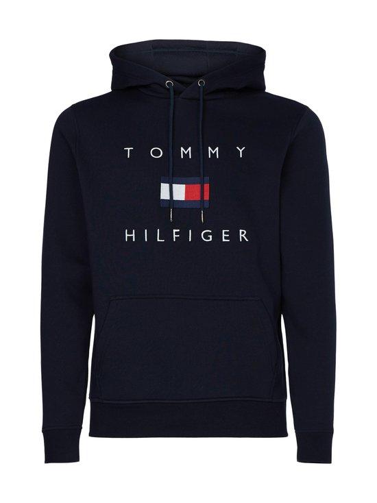 Tommy Hilfiger - Flag Logo Cotton Blend Hoody -huppari - DW5 DESERT SKY | Stockmann - photo 1