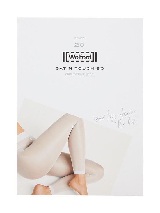 Wolford - Satin Touch 20 den -leggingsit - 7005 BLACK | Stockmann - photo 1