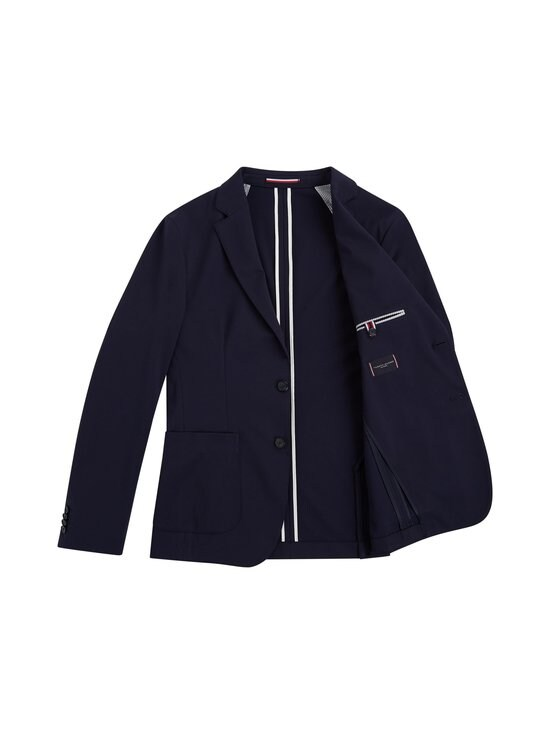 Tommy Hilfiger Tailored - TH Flex Slim Fit Jersey Blazer -bleiseri - DW5 DESERT SKY   Stockmann - photo 2