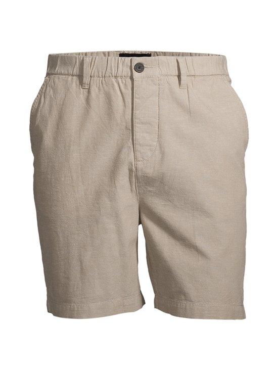 Lyle & Scott - Cotton Linen Walkshort -shortsit - Z151 STONE | Stockmann - photo 1