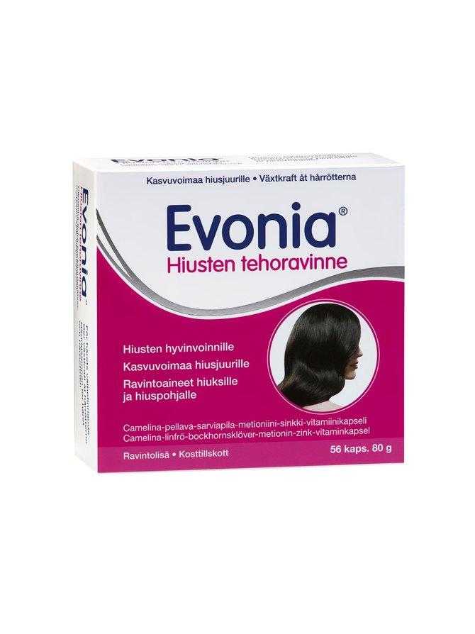 Evonia- hiusten tehoravinne 56 kaps.