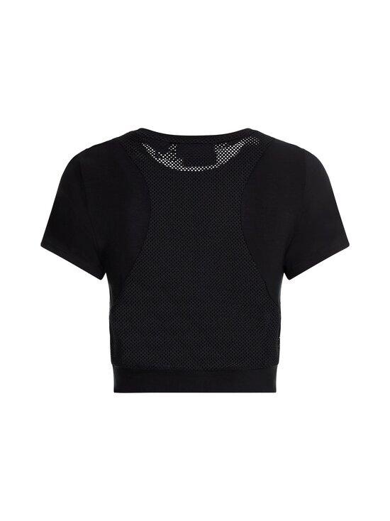 Calvin Klein Performance - Mesh Back Cropp -paita - BLACK   Stockmann - photo 2