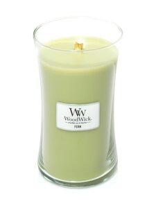 Woodwick - Fern Large -tuoksukynttilä - GREEN | Stockmann