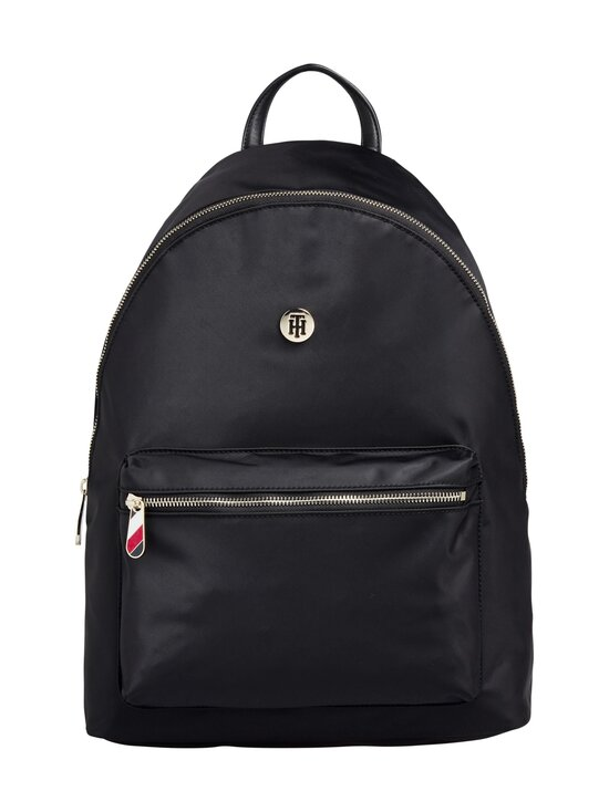 Tommy Hilfiger - Poppy Backpack Solid -reppu - 0GJ BLACK   Stockmann - photo 1