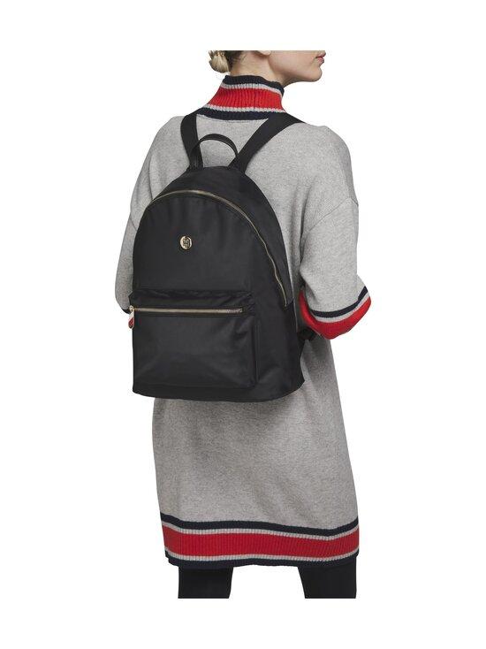 Tommy Hilfiger - Poppy Backpack Solid -reppu - 0GJ BLACK   Stockmann - photo 4