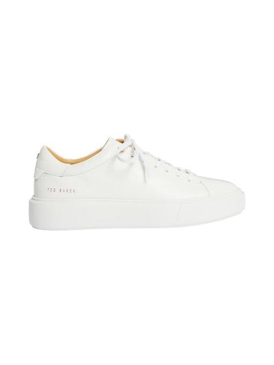 Ted Baker London - Yinka Leather Platform Trainer -nahkasneakerit - WHITE   Stockmann - photo 1