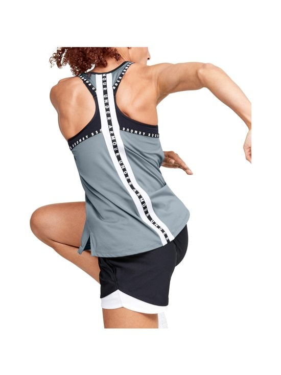 Under Armour - Knockout Tank -treenitoppi - 396 HUSHED TURQUOISE | Stockmann - photo 5
