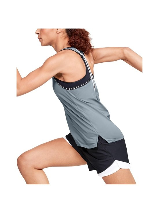 Under Armour - Knockout Tank -treenitoppi - 396 HUSHED TURQUOISE | Stockmann - photo 8