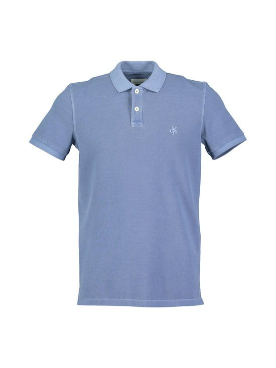 Marc O'Polo - Pikeepaita - 840 FROZEN DARK BLUE | Stockmann - photo 1