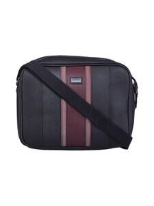 Ted Baker London - Boxed Webbing Despatch Bag -laukku - 00 BLACK | Stockmann