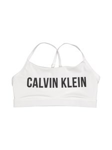 Calvin Klein Performance - Adjustable Straps Sports Bra -urheiluliivit - BRIGHT WHITE (VALKOINEN) | Stockmann