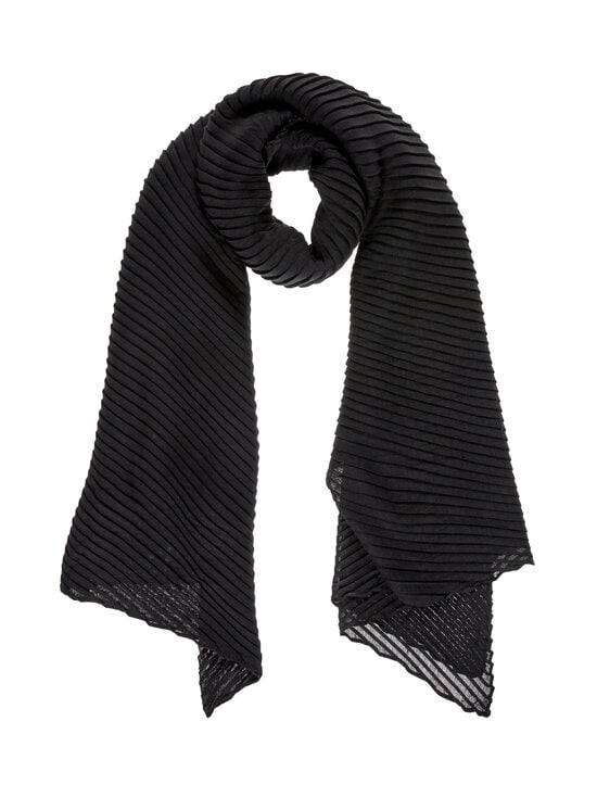 A+more - Free Crinkle Scarf -huivi - BLACK | Stockmann - photo 1
