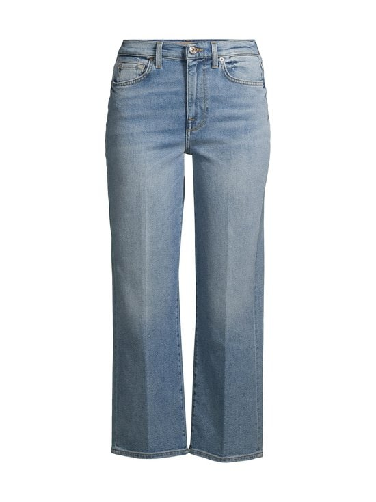 7 For All Mankind - Cropped Alexa Luxe Vintage On Time -farkut - MID BLUE | Stockmann - photo 1