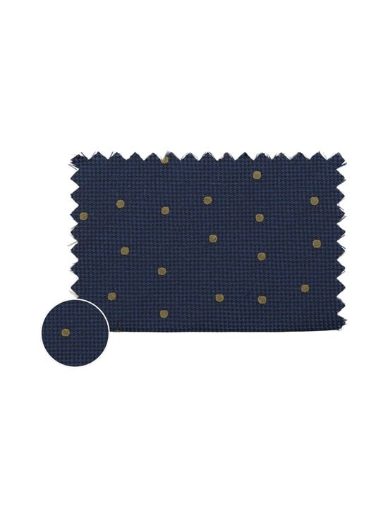 Tommy Hilfiger Tailored - Dot Silk Blend Tie -silkkisekoitesolmio - 0ZU NAVY/GREEN | Stockmann - photo 2