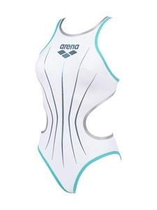 Arena - OneElectric OnePiece -uimapuku - 185 WHITE-MINT_SILVER | Stockmann