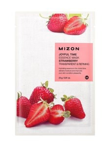 Mizon - Joyful Time Essence Strawberry Mask -kangasnaamio  23 g | Stockmann