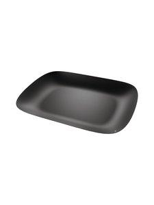 Alessi - Moiré Tray -tarjoiluvati 45 x 34 cm - BLACK | Stockmann