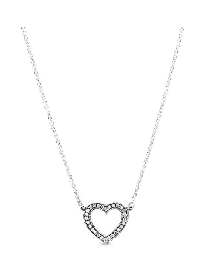 Heart Silver -kaulakoru