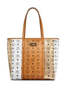 MCM - Medium Toni Shopper in Visetos Mix -laukku - CO COGNAC | Stockmann