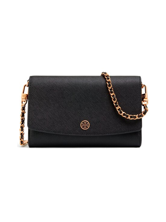 Tory Burch - Robinson Chain Wallet -nahkalaukku - 001 BLACK | Stockmann - photo 1
