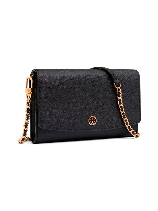 Tory Burch - Robinson Chain Wallet -nahkalaukku - 001 BLACK | Stockmann - photo 2