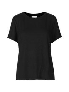 SECOND FEMALE - Ello Loose SS Tee -paita - 8001 BLACK | Stockmann