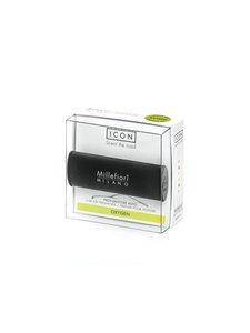 Millefiori - Classic Black Icon Oxygen -ilmanraikastin autoon - MUSTA | Stockmann