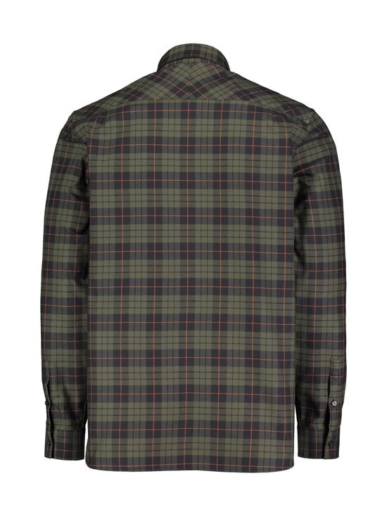 Fred Perry - Brushed Oxford Tartan -paita - 617 FOREST NIGHT | Stockmann - photo 2