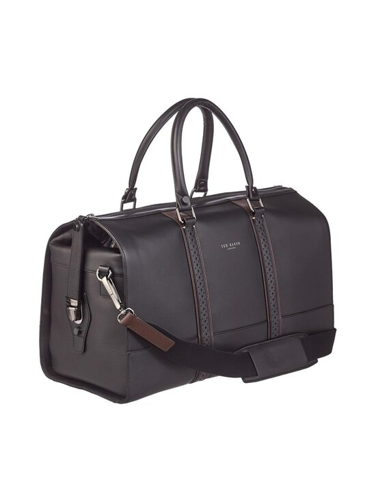 Ted Baker London - Topped Brogue Holdall -nahkalaukku - 00 BLACK | Stockmann - photo 2
