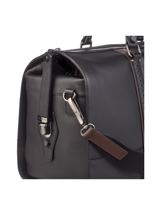 Ted Baker London - Topped Brogue Holdall -nahkalaukku - 00 BLACK | Stockmann - photo 3