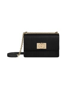Furla - 1927 Mini Crossbody 20 -nahkalaukku - O6000 NERO | Stockmann
