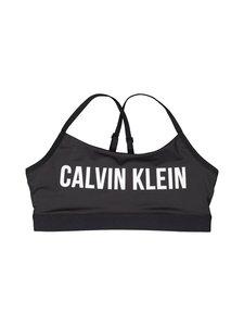 Calvin Klein Performance - Adjustable Straps Sports Bra -urheiluliivit - CK BLACK (MUSTA) | Stockmann