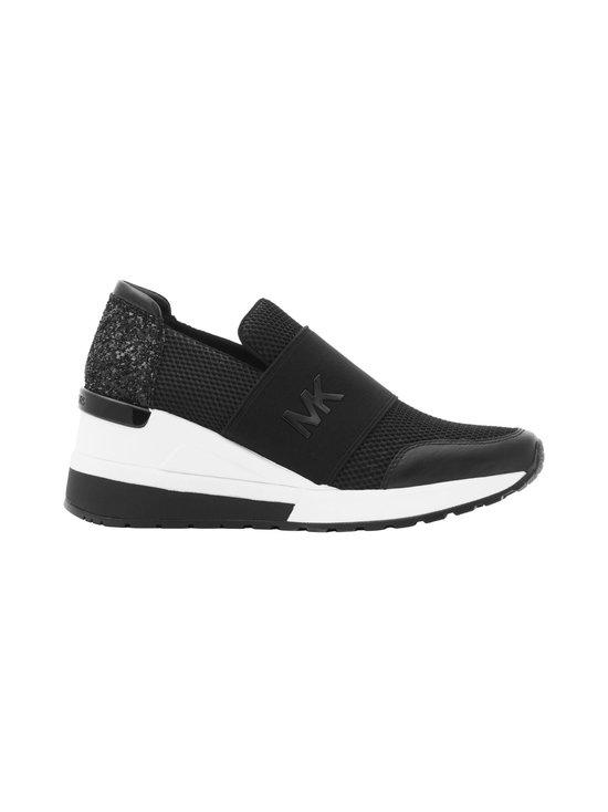 Michael Michael Kors - Felix Slip On Wedge -sneakerit - 001 BLACK | Stockmann - photo 1
