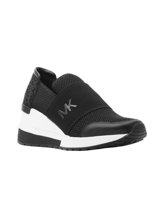 Michael Michael Kors - Felix Slip On Wedge -sneakerit - 001 BLACK | Stockmann - photo 2