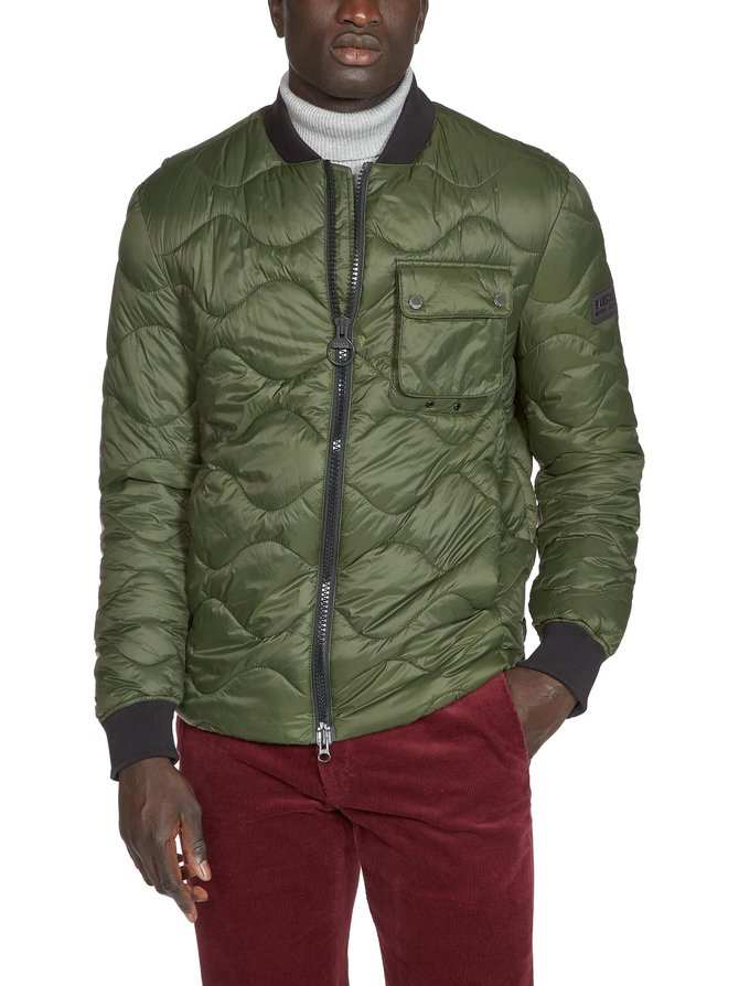 B.Intl Synon Quilted Jacket -takki