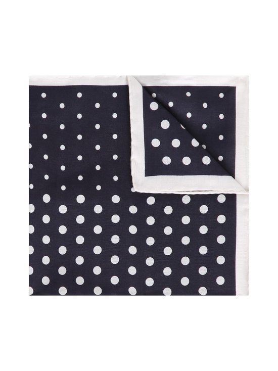 Dot Cotton Silk Pocket Square -taskuliina