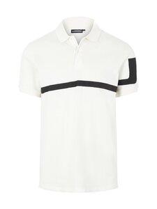 J.Lindeberg - Brand Logo Polo Shirt -pikeepaita - A003 CLOUD WHITE | Stockmann