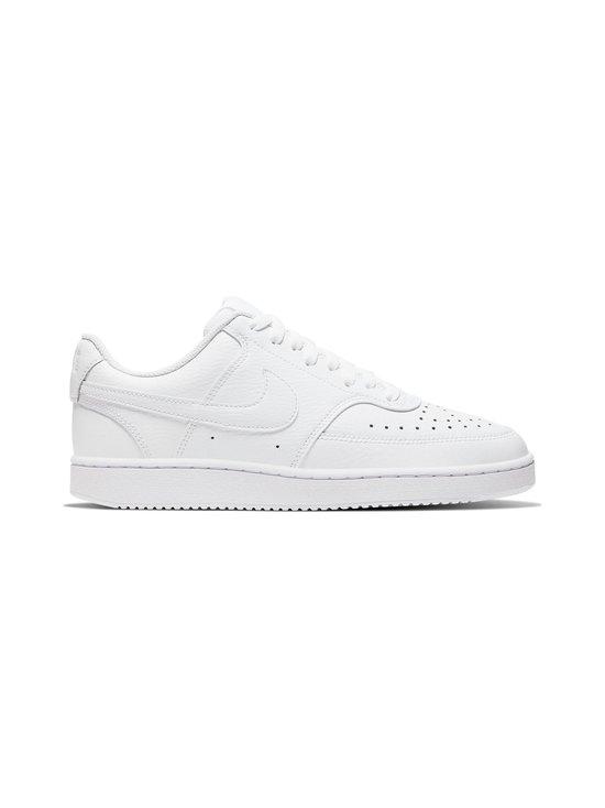Nike - Court Vision Low -tennarit - WHITE/WHITE-WHITE | Stockmann - photo 1
