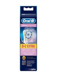 Oral-B - Sensi UltraThin Spare Brush -harjaspää 8 + 2 kpl - WHITE | Stockmann