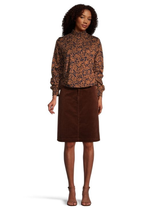 NOOM - Rania-vakosamettihame - MID BROWN | Stockmann - photo 3