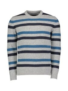 Marc O'Polo - Villasekoiteneule - 936 BLUE GREY STRIPE | Stockmann