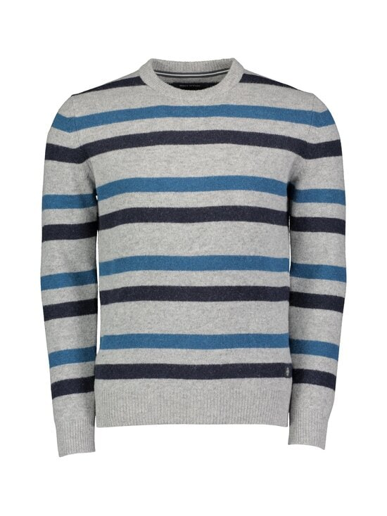 Marc O'Polo - Villasekoiteneule - 936 BLUE GREY STRIPE | Stockmann - photo 1