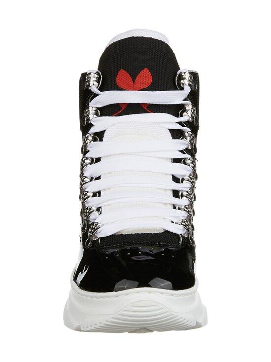 F_WD - High Top Chunky Sole -sneakerit - 999 BLACK / BLACK / WHITE   Stockmann - photo 3