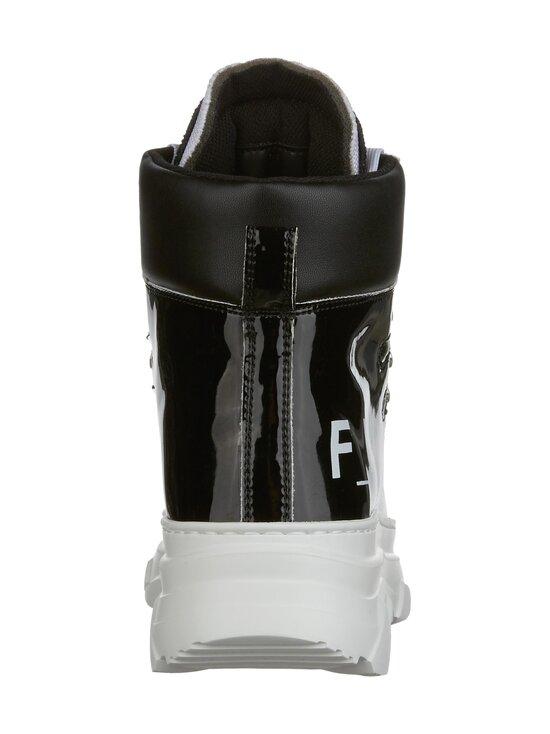 F_WD - High Top Chunky Sole -sneakerit - 999 BLACK / BLACK / WHITE   Stockmann - photo 4