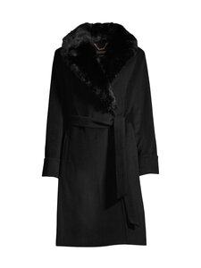 Lauren Ralph Lauren - Wool Wrap Coat -villakangastakki - 2WAH BLACK | Stockmann