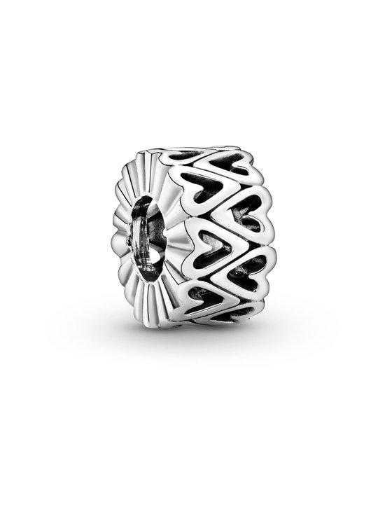 Pandora - Openwork Freehand Heart Spacer -hela - 798694C00 SILVER   Stockmann - photo 1
