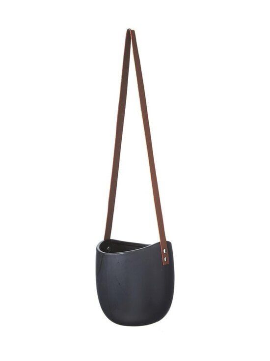Wikholm Form - Hanging Pot -amppeli 16 x 18 + 45 cm - BLACK MATTE | Stockmann - photo 1