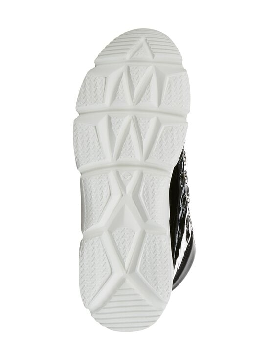 F_WD - High Top Chunky Sole -sneakerit - 999 BLACK / BLACK / WHITE   Stockmann - photo 6