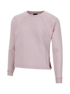 Nike - Lux Dry Fleece -paita - 516 PLUM CHALK/METALLIC SILVER | Stockmann