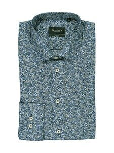 SAND Copenhagen - Iver 2 Slim Fit -kauluspaita - 580 MEDIUM BLUE | Stockmann